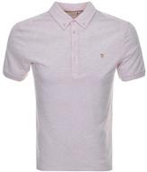 Farah Merriweather Polo T Shirt Pink