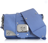 Versace Stardust Blue Breeze Leather Mini Shoulder Bag