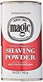 Magic Extra Strength Shaving Powder Red Can 5 Oz by