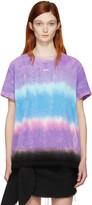 Off-White Multicolor Tie-dye Towel T-shirt