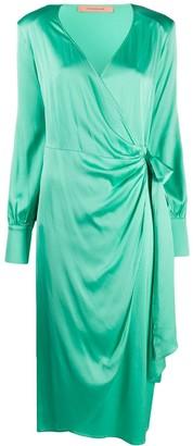 Andamane Beverly wrap dress