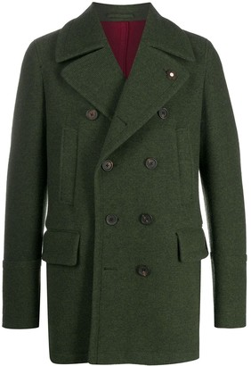 Lardini Double-Breasted Coat