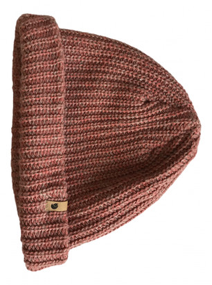 Fjallraven Pink Wool Hats