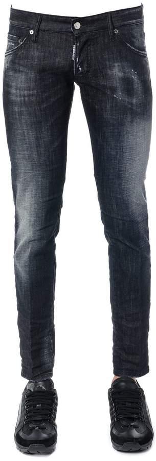 DSQUARED2 Clement Cotton Denim Jeans