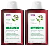 Klorane Shampoo with Quinine and B Vitamins - Thinning Hair (Set of 2) (6.7 OZ)