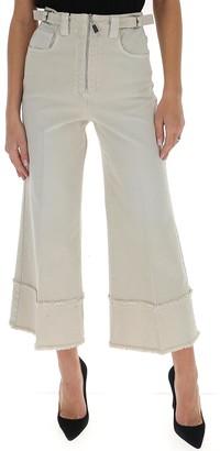 Miu Miu Cropped Flared Jeans