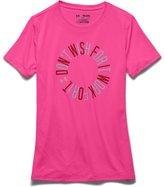 Under Armour Girls' UA TechTM Work For It T-Shirt