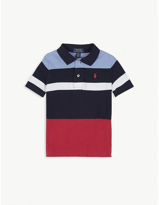 Ralph Lauren Stripe cotton polo shirt 2-14 years