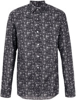 Lanvin embroidered shirt - men - Cotton - 38