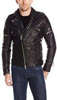 J. Lindeberg Men's Trey 56 Sleek Leather