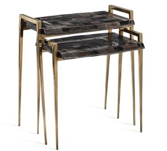 Interlude Brees 2 Piece Nesting Tables
