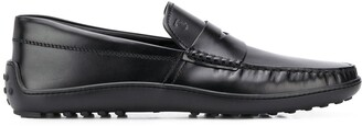 Tod's Rubber-Footbed Loafers