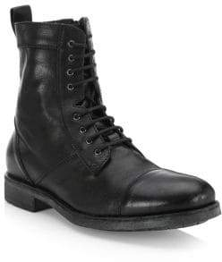 Saks Fifth Avenue COLLECTION Leather Combat Boots