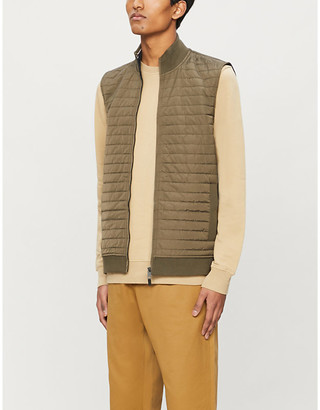 Ted Baker Rapids quilted stretch-knit gilet