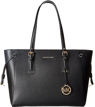 Michael Kors Women's Totebags - Black Voyager Leather Tote