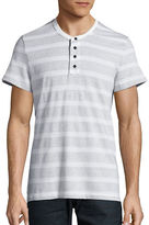 Kenneth Cole New York Textured Henley Tee