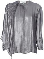 Gianfranco Ferre Vintage metallic blouse
