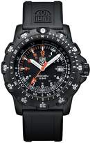 Luminox Men's Recon Point Man 8821.KM Rubber Swiss Quartz Watch