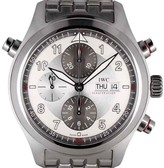 IWC Pilot Spitfire IW3718 Chronograph Stainless Steel Watch