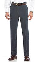 Roundtree & Yorke Travel Smart Non-Iron Stretch Gabardine Flat-Front Dress Pants