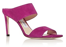 Jimmy Choo Women's Hira High-Heel Slide Sandals