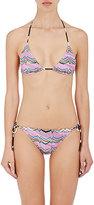 Missoni Women's Zigzag String Bikini-PINK