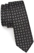 The Tie Bar Steady Bloom Silk Tie