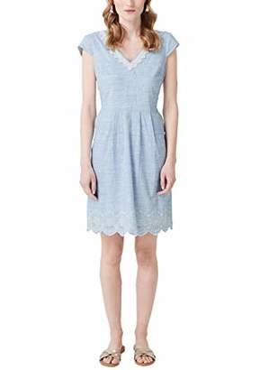 S'Oliver Women's .904.82.2679 Party Dress, (air Blue 5336), 16 (Herstellergröße: )