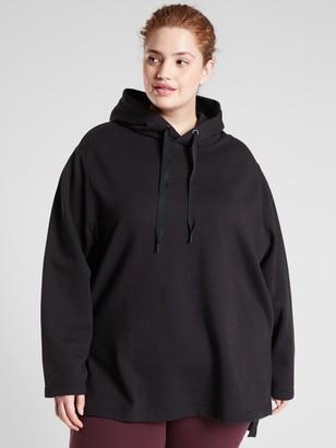 Athleta Yogi High Low Sweatshirt