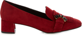 Erdem Carson suede loafers