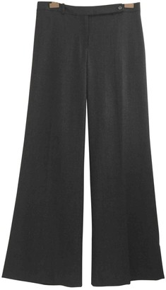 Michael Kors Anthracite Wool Trousers