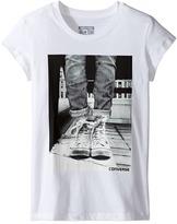 Converse Neon Chucks Tee Girl's T Shirt