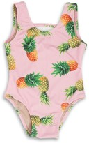 Shade Critters Pink Pineapple One-Piece Swimsuit (Toddler & Little Girls)