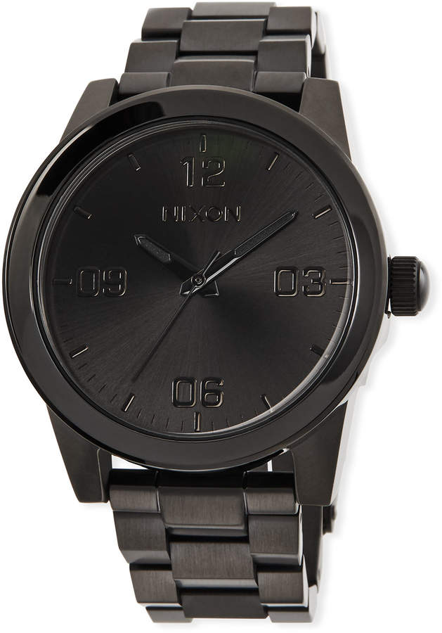 Nixon 36mm G.I. Bracelet Watch Black