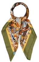Hermes Tsitsika Silk Scarf