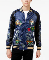 Reason Men's Lion Souvenir Jacket with Patches