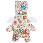 Trousselier Liberty Print Angel Bunny Rattle