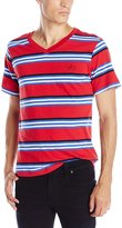 Enyce Men's Megatron Yarn Dye Stripe T-Shirt