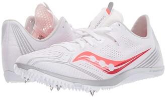 Saucony Endorphin 3 (White/Vizi Red) Women's Shoes