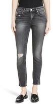 Amo Women's 'Twist' Crop Skinny Jeans