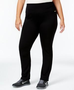 Calvin Klein Plus Size Pull-On Active Leggings