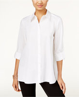 Style&Co. Style & Co. Petite High-Low Shirt, Only at Macy's