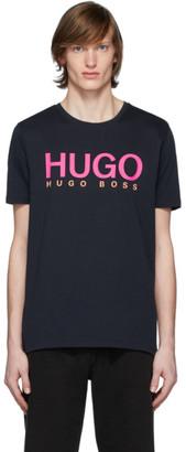 HUGO Navy Dolive T-Shirt