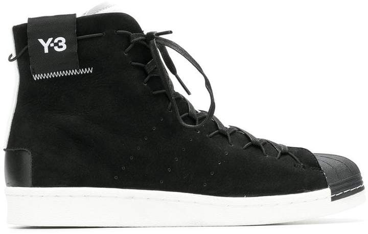 Y-3 classic lace-up sneakers