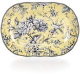 222 Fifth Adelaide Yellow Platter