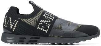 Emporio Armani knitted-style sneakers