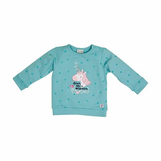 Salt&Pepper Salt and Pepper Baby_Girl's Sweat Dream Allover Einhorn Sweatshirt