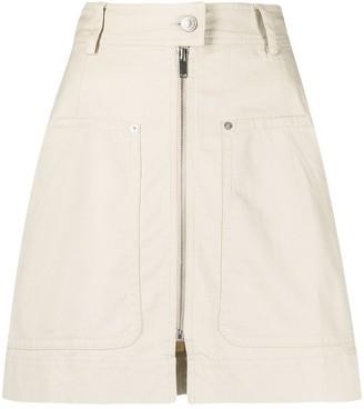 Etoile Isabel Marant Pilademi denim mini skirt