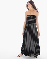 Chico's Striped Strapless Dress