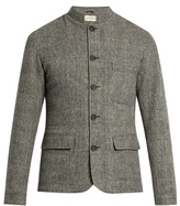 Oliver Spencer Coram Dudley Mandarin-collar Wool Jacket